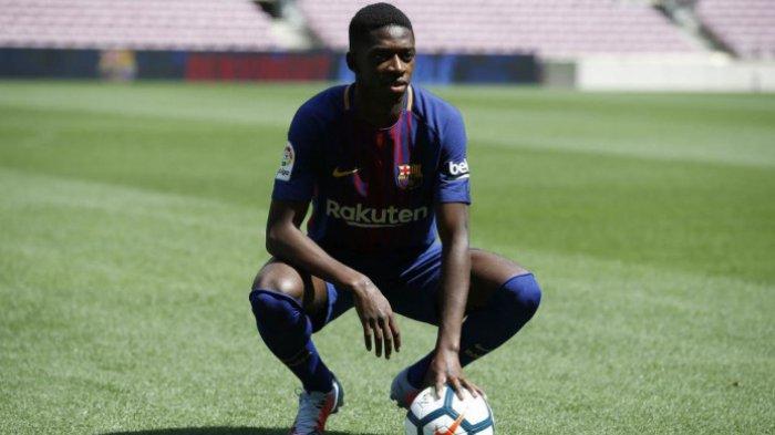 Harga Terlalu Tinggi, Ousmane Dembele Akan Bertahan di Barcelona
