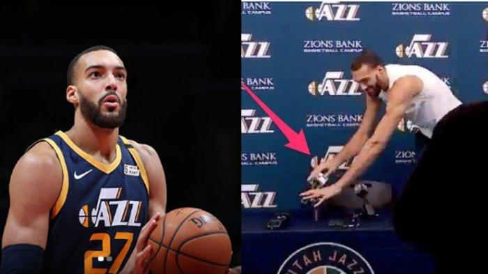 Atlet NBA Rudy Gobert Minta Maaf karena Bercanda tentang Corona