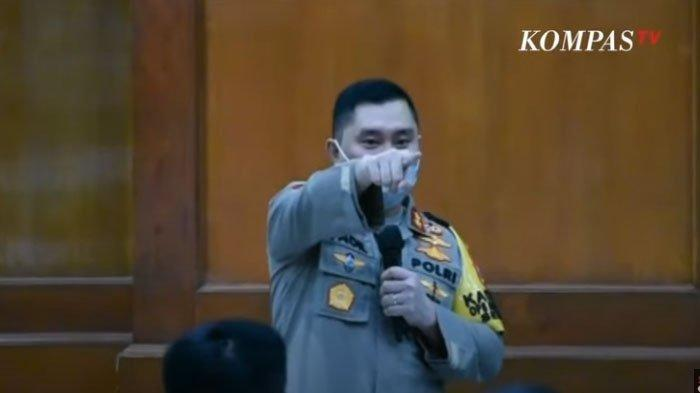 Kapolsek Diusir Kapolda Jatim Saat Rapat, Berikut Namanya dan Penjelasan Polisi
