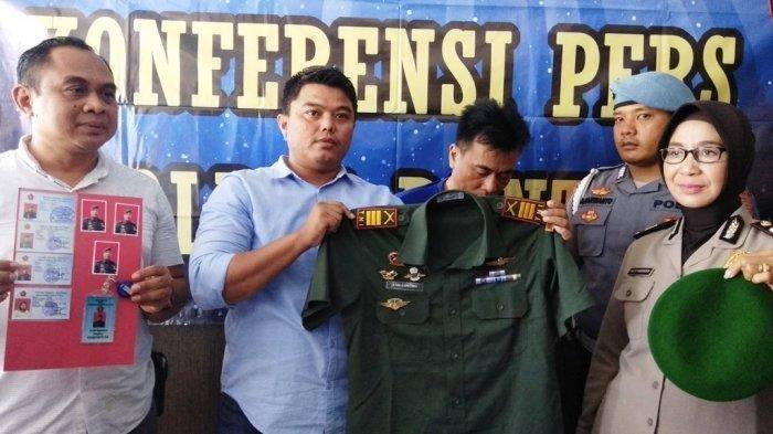 TNI Gadungan Tipu 4 Janda, Puluhan Juta Rupiah Uang Melayang