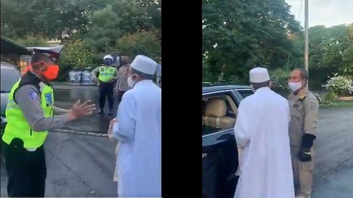 Habib Umar akan Diberi Sanksi Usai Ribut dengan Satpol PP di Tengah Pemberlakuan PSBB