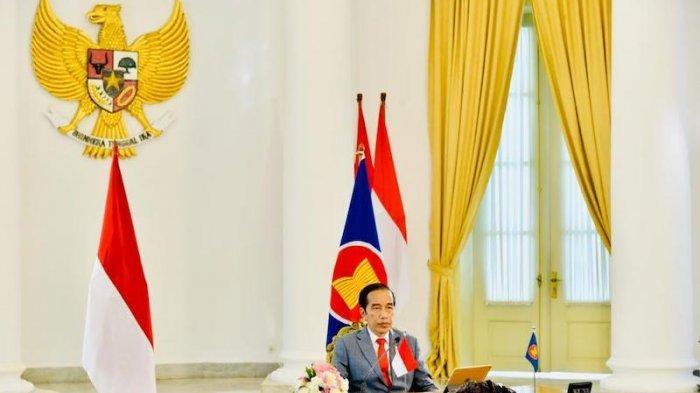 Jokowi Sebut ASEAN Hadapi Dua Tantangan Besar yang Semakin Berat