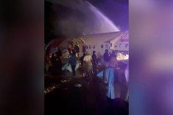 Pecah Jadi Dua di Bandara Kerala Tidak Ada Kebakaran Saat Pesawat Air India Express Tergelincir