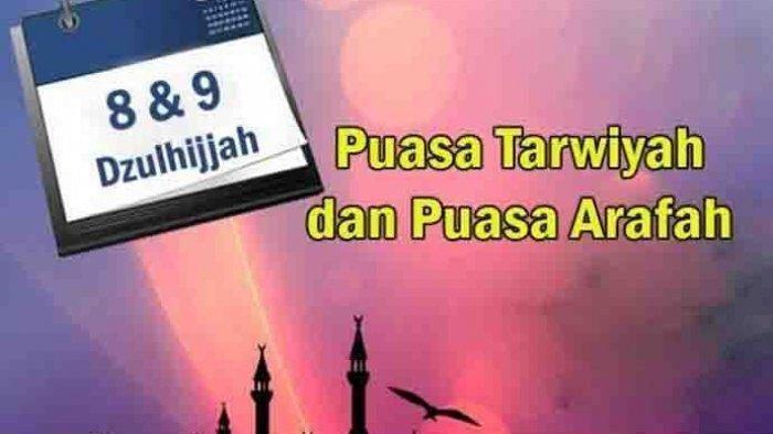serta Keutamaan Arti Bacaan Niat Puasa Arafah & Tarwiyah sebelum Idul Adha 2020 Dilengkapi Latin